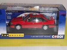 Vanguard Corgi VA14002A Vauxhall Carlton 3000 GSi Carmine Red. 1000 ISSUED SALE
