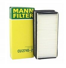 Right 2 MANN engine dust Air Filter Set for Mercedes 2001 2002 cL600 s600 Left