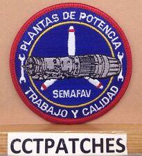 SEMAFAV POWER PLANT WORK AND QUALITY PLANTAS DE POTENCIA TRABAJO Y CALIDAD PATCH