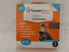 ThunderShirt for Large (Over 13 Pounds) Cats (Solid Gray) New Open Box