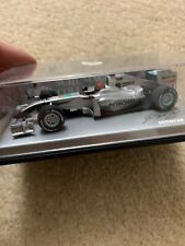 Michael Schumacher MERCEDES PETRONAS F1 TEAM SHOWCAR 2010 Minichamps 1/43 - MIB.