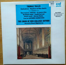 Thomas Tallis: Gaude Gloriosa, motets - The Choir of New College Oxford - CD
