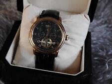 PERIGÀUM ★ Herren Armband Uhr ★ Automatik Uhr ★HS0603 ★Lederarmband★ Neuwertig ★