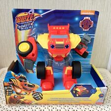 Blaze and the Monster Machines Transforming Robot Rider Brand NEW
