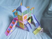 Mattel 2001 Barbie KELLY PLAYLAND Playset Slides & Platforms-dolls not included