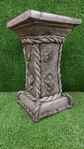 Garden Cast Stone Plinth