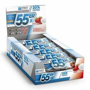 Frey Nutrition 55er Protein Riegel 20 x 50g Eiweißriegel + Bonus