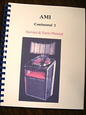 AMI Continental/Lyric Jukebox  Manual
