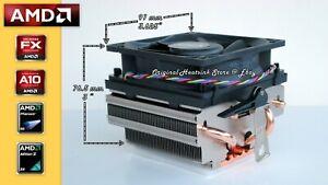 Genuine AMD Phenom II X6 Heatsink CPU Cooling Fan for 1090T-1100T Socket AM3 New