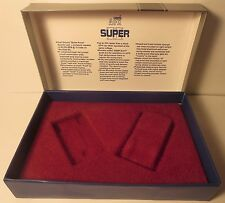 AURORA AFX SUPER II SLOT CAR BOX & PLASTIC INSERT DIAGRAM THUNDERJET T-JET MINT!