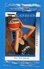 1997-98 Pinnacle Inside Promo Pack Rebecca Lobo Lisa Leslie Sealed Nm/Mint WNBA