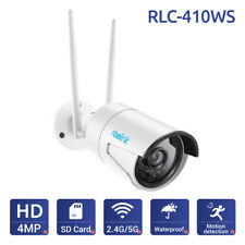 Reolink Wireless WiFi IP Camera HD 4MP Security CCTV w/ 16G SD Card  RLC-410WS