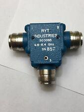 6.8-8.4GHz RF CIRCULATOR ISOLATOR RYT Industries Tested