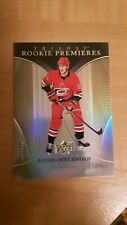 New listing 2018-19 ANDREI SVECHNIKOV UD TRILOGY ROOKIE PREMIERES ROOKIE CARD #79 #/999 RC