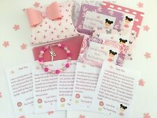 Personalised Tooth Fairy Letters, Bracelet, Gift Box, First Tooth, Tooth Fairy