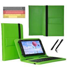 "Tastatur Case Hülle für Samsung Galaxy Tab 2 P5110 Tablet Keyboard 10.1"" Grün"