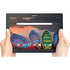 "New Lenovo Tab 10 10.1"" 16GB Tablet Android 6.0 Marshmallow WiFi Bluetooth Black"