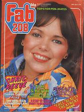Fab 208 Magazine 28 April 1979  Christopher Reeve Child Leif Garrett Lene Lovich