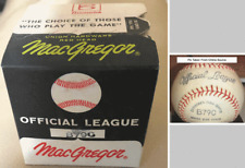 "1950's MacGregor ""OFFICIAL LEAGUE"" B79C Baseball; Never Opened w/Box"
