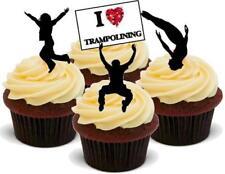 Mezcla de fútbol Liverpool 12 Stand Up Premium Oblea Comestible Cake Toppers