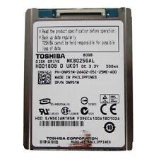 """Toshiba MK8025GAL 80GB 1.8"""" ZIF Hard Drive"""