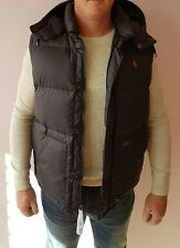 Ralph Lauren body warmer boulder down gilet black brand new size L