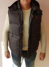 Ralph LAUREN Body warmer Boulder Abajo Chaleco Negro Nuevo Tamaño L