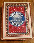 White Pass & Yukon Route Souvenir Playing Cards - Alaska SS Co / Gold Rush Train