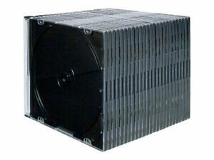 Fellowes NEATO Storage CD slim jewel case capacity: 1 CD 1 DVD clear (pack 98316