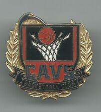 NBA Cleveland Cavaliers CAVS Basketball Club Pin Vintage Peter David 1994 OOP