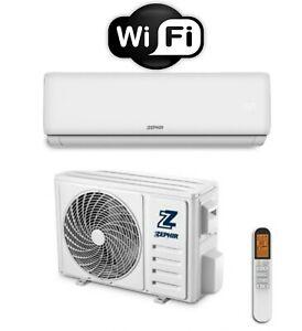 Climatizzatore ZEPHIR ZTQ Advance Wifi Condizionatore 9000BTU A++ GOOGLE/ALEXA