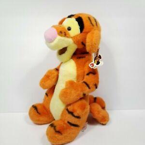 "Disneyland Orange Black Tigger Winnie The Pooh Friends Plush Stuffed Animal 15"""