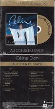 """CD CARDSLEEVE CÉLINE DION AU COEUR DU STADE """"LES DISQUES D'OR 12T FRANCE 2014"""