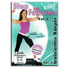 Fitness DVD - Easy Step Aerobic Fatburner Vol.1 - Für Steppbrett Stepper - Neu
