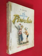 COLLODI - LE AVVENTURE DI PINOCCHIO Ed. Fabbri (1957) Libro ill. MARAJA