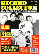 Record Collector March 1997 - U2, Blur (w/ The Beatles, Jefferson Airplane)