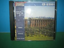 EISENBAHN JOURNAL ~ CD-ROM    8 / 2001 ONLY ~ GERMAN TEXT > VGC SEE PIC'S