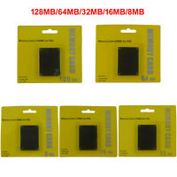 256MB 128MB Memory Card Speicherkarte für Sony Playstation 2 PS2 Game Konsole