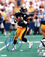 KORDELL STEWART SIGNED AUTOGRAPHED 8x10 PHOTO PITTSBURGH STEELERS BECKETT BAS