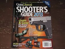 GUN DIGEST-THE MAGAZINE MAG~~SHOOTER'S GUIDE 2013~~MAY 12, 2013~~FREE SHIPPING!!