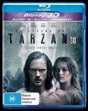 The Legend Of Tarzan (Blu-ray, 2016, 2-Disc Set)