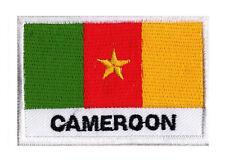Patch écusson brodé coudre patche drapeau Camerounais CAMEROUN 70 x 45 mm