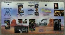 Back to the Future Part Iii 1990 Spielberg Zemeckis Mca Video Promo Poster Vgfn