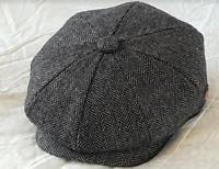 SALE Peaky Blinders Styles Men Hat 8 Panel Paper boy Baker boy Cap Herringbone