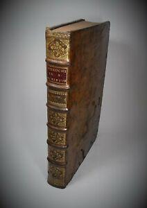 In-Folio Giovanni Menochio JOANNIS STEPHANI MENOCHII COMMENTARII 1743 Recurti