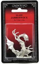 Ral Partha 01-095 Jabberwock (1) 25mm Miniature Fantasy Monster Chaos Drake NIB