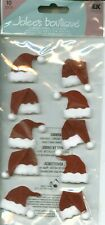 Christmas Santa Claus Hats Hat Jolee's Stickers