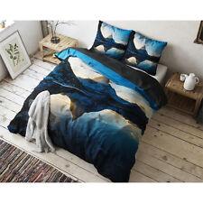 PARURE HOUSSE DE COUETTE -140X220CM + 1 TAIE - Blue Mountains