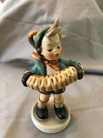 "Vintage M I Hummel W Germany  ""Accordian Boy"" Figurine # 185 TMK 3 SS"