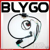 Complete Kick Start Engine Wire Wiring Harness Loom Kit 125cc PIT PRO Dirt Bike